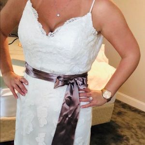 Justin Alexander Sincerity Wedding Dress (Size 14)